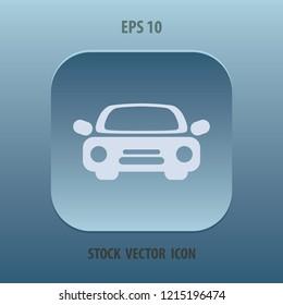Car icon, vector design element