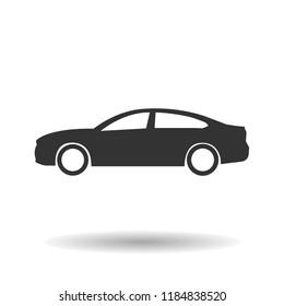 Car Icon. Vector illustration