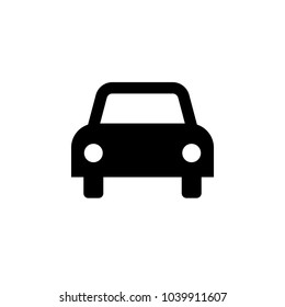 Car icon. Vector illustration. Flat design.