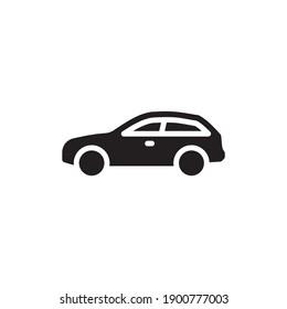 car icon in vector. Logotype