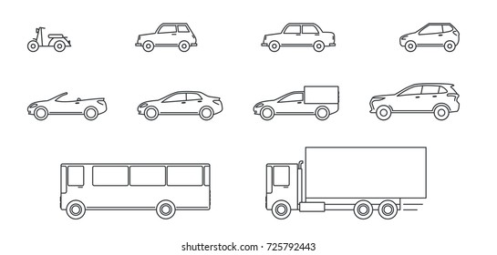 Cars On Line >> Car Outline Photos 149 652 Car Stock Image Results