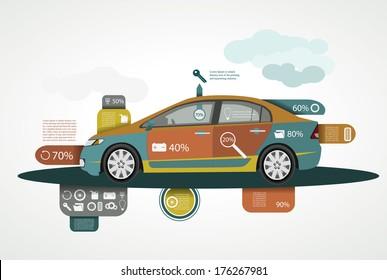 Car infographics, Safe driving statistics