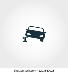 Car Jack icon. Premium quality element illustration from car parts collection. Car Jack monochrome icon. Perfect for web design and printing.