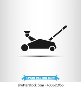 Car jack icon vector illustration eps10.
