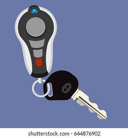 Car Key and Key chain