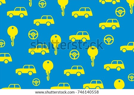 Car Key Illustration Wallpaper Background Vector Stock