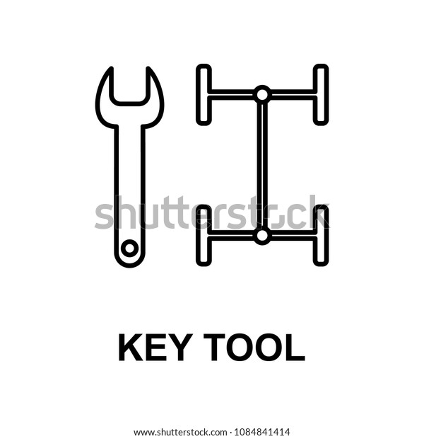 car key tools icon. Element of car repair for mobile concept and web apps. Detailed  icon can be used for web and mobile. Premium icon on white background