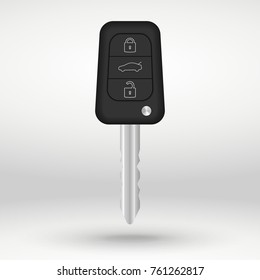 car key vector illustration isolated