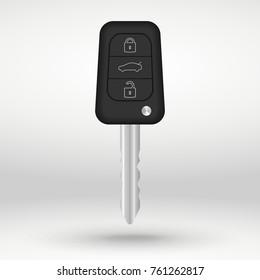 car key vector illustration isolated