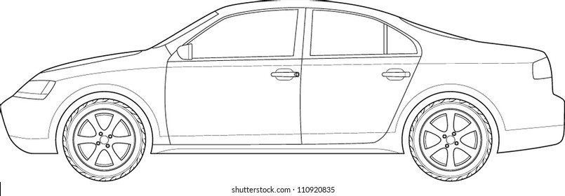 Car Diagram Images  Stock Photos  U0026 Vectors