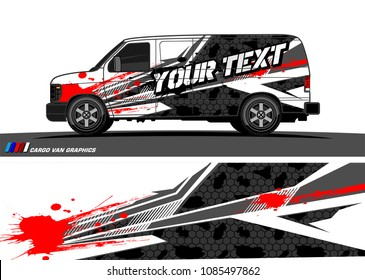 car livery vector. abstract racing shape design for vehicle vinyl wrap background