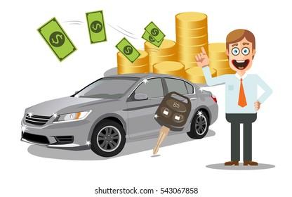 Car loan or Car finance.