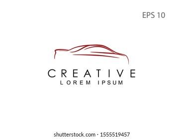 Car logo for the company, vector illustration.