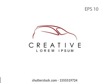 Car logo for the company, vector illustration.