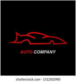car logo design. automotive vector logo design template