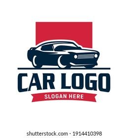 Car Logo Design Template Inspiration, Vector Illustration, Vehicle Logo, Automotive Logo