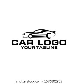 CAR Logo Icon With Vector Template For Transportation Industrial