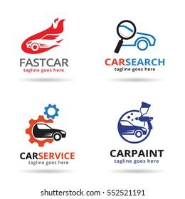 Car Logo Template Design Vector/ Icon Design