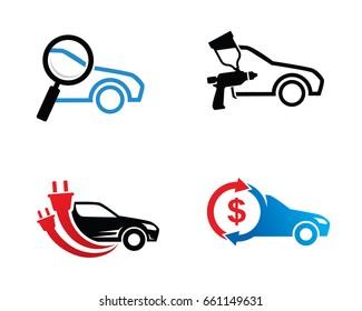 Car Logo Template Design Vector, Emblem, Design Concept, Creative Symbol, Icon