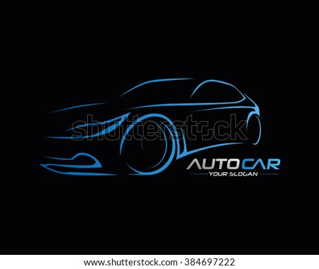 Car Logo Vector Illustration Stock Vector Royalty Free 384697222