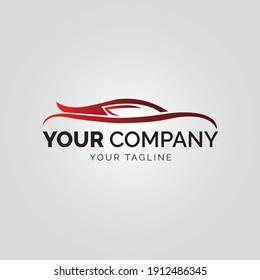 Car Logo Vector Illustration,abstract car design