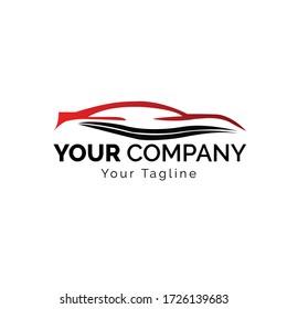 Car Logo,Vector logo design, for sports car logos, car repair shops, and car wash