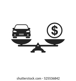 Imagenes Fotos De Stock Y Vectores Sobre Car Value Icon Shutterstock
