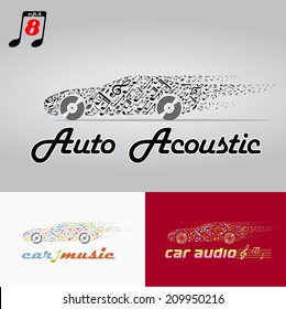 the car music , motor vehicle acoustic. eps8