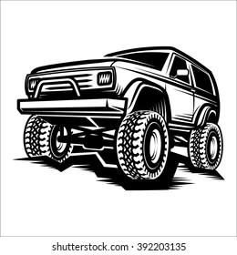 car off-road 4x4 truck / suv car