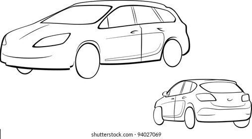 Car outline