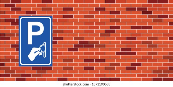 Car Paid parking garage sign Betaald parkeren Machine parking machine lot city street cash Pay On Foot Parking System Vector icon icons sign sign Fun funny  No Ban stop P Ticket zone area mandatory