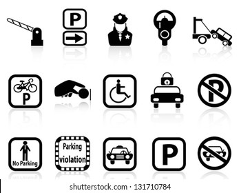 car parking icons