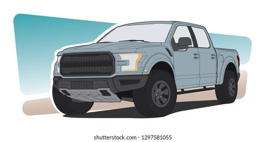 Car pickup truck