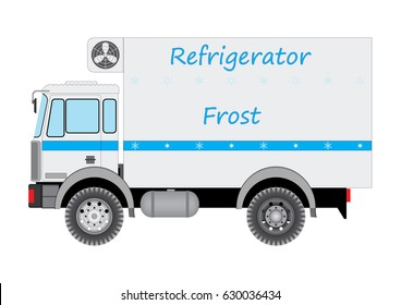 The car refrigerator for a freezing and delivery of perishable products