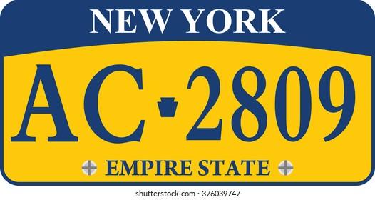 car registration number plates
