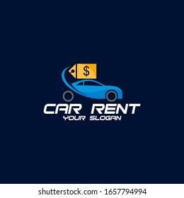Car Rent Logo Design Idea