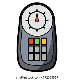 car scanner device icon