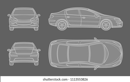 car schematic images, stock photos \u0026 vectors shutterstock Artificial Inteligence Schematics car schematic drawing from different foreshortening
