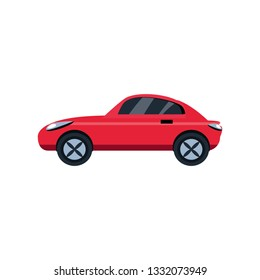 car sedan isolated icon