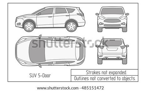 Car sedan suv drawing outline stock vector royalty free 485151472 car sedan suv drawing outline stock vector royalty free 485151472 shutterstock malvernweather Choice Image