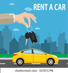 Business Car Rental Cartoon Images Stock Photos Vectors Shutterstock