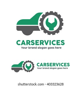 Car service garage, logo, Shop brand identity, automobile car product, Car repair sign.