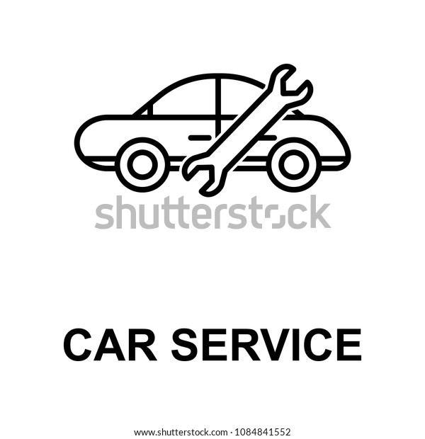 car service icon. Element of car repair for mobile concept and web apps. Detailed  icon can be used for web and mobile. Premium icon on white background