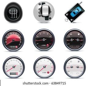 Car service icons. Part 4