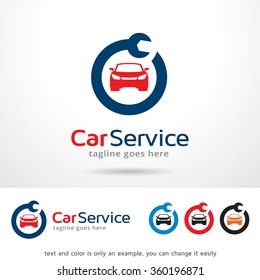 Car Service Logo Template Design Vector