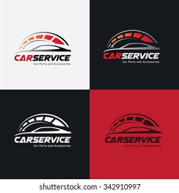Car Services Automotive Logo Template