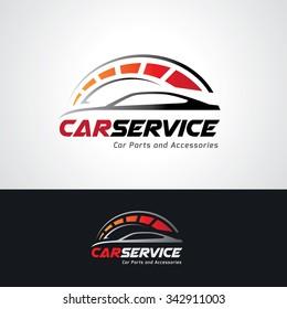 Car Services Automotive Logo Template