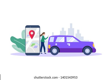 Electric Shared Mobility Stock Vectors, Images & Vector Art