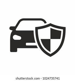 Car shield icon