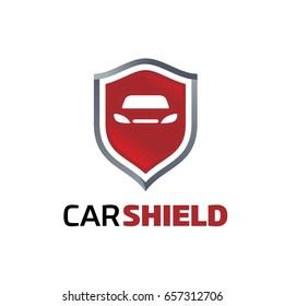 Car Shield Logo Template Designs